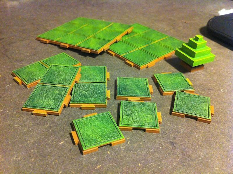 Modular Board Game – Custom Tiles Progress | Gnarly Root Games