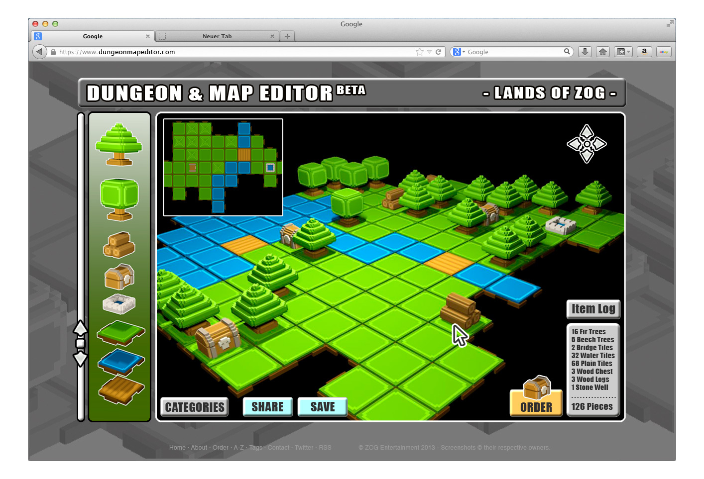 Board Game Goes Digital Map Editor Mockup Gnarly Root Games - Board game design software
